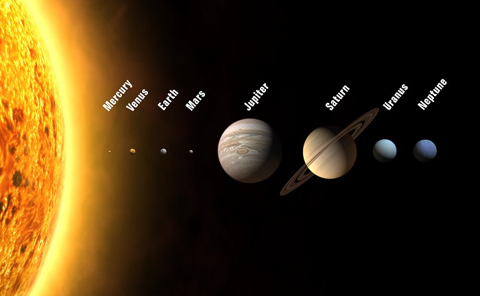the 7 planets of solar system - photo #12