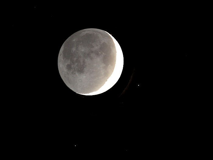 Old Moon In New Moons Arms >> StarWatch: Moravian College Astronomy