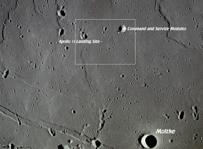apollo 11 landing site earth - photo #12