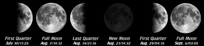 2017 Moon Phases Calendar - Space.com