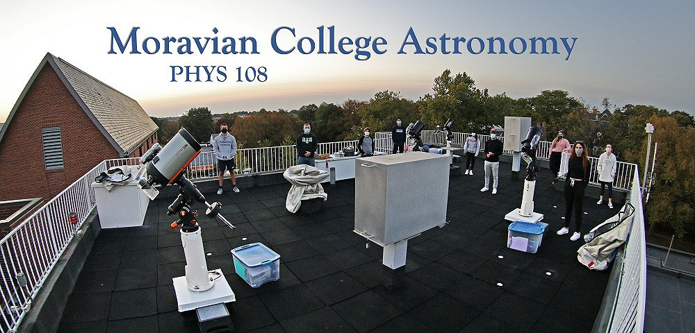 MORAVIAN COLLEGE ASTRONOMY