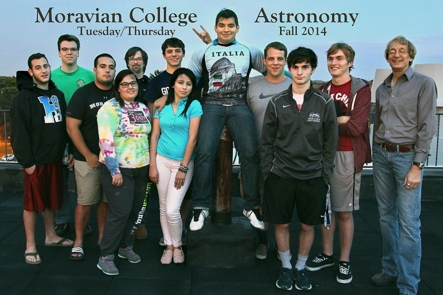 Astronomy universities classes