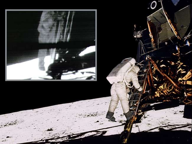 neil armstrong first step - photo #13